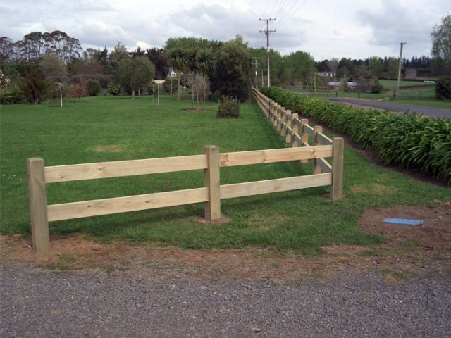 2 Rail Fences Post And Rail Fences Beams Amp Timber Nz