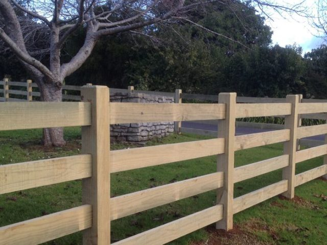 Rail fences post and — beams timber nz