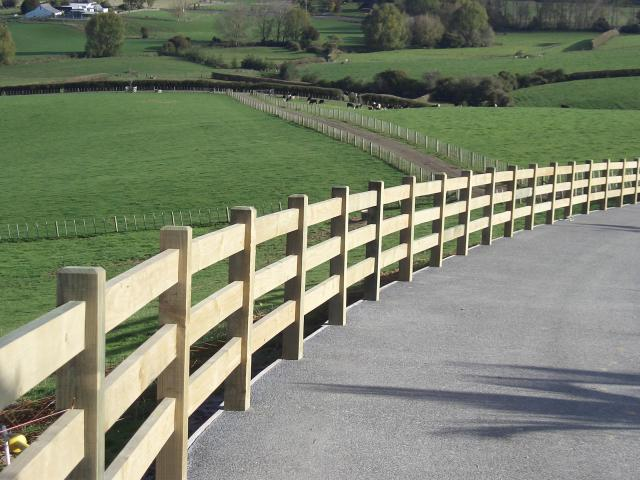 Post And Rail Fences Beams Amp Timber Nz