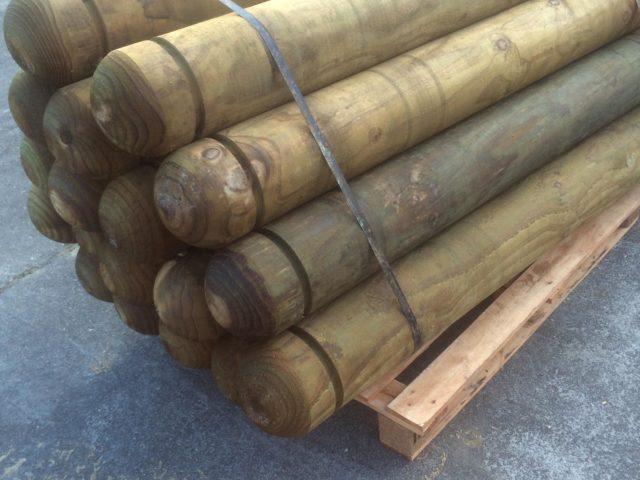 Wooden Bollards Nz Beams Amp Timber