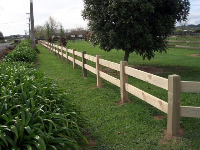 Slot Rail Fence