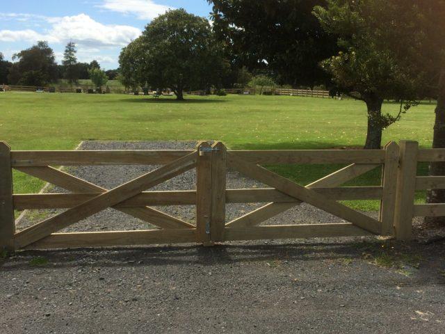 Taupiri Cemetery Btd Interlock Post Amp Rail Fence Supplied